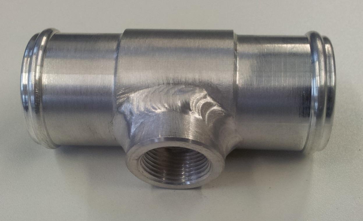 T-stuk rond 32 mm naar M22-0