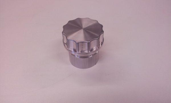 """Tankdop aluminium 2"""" bsp L= 64 mm-228"""