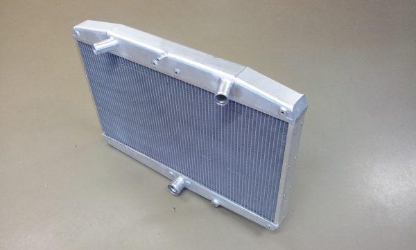 Radiateur Jaguar E-type met ventilatoren !!-312
