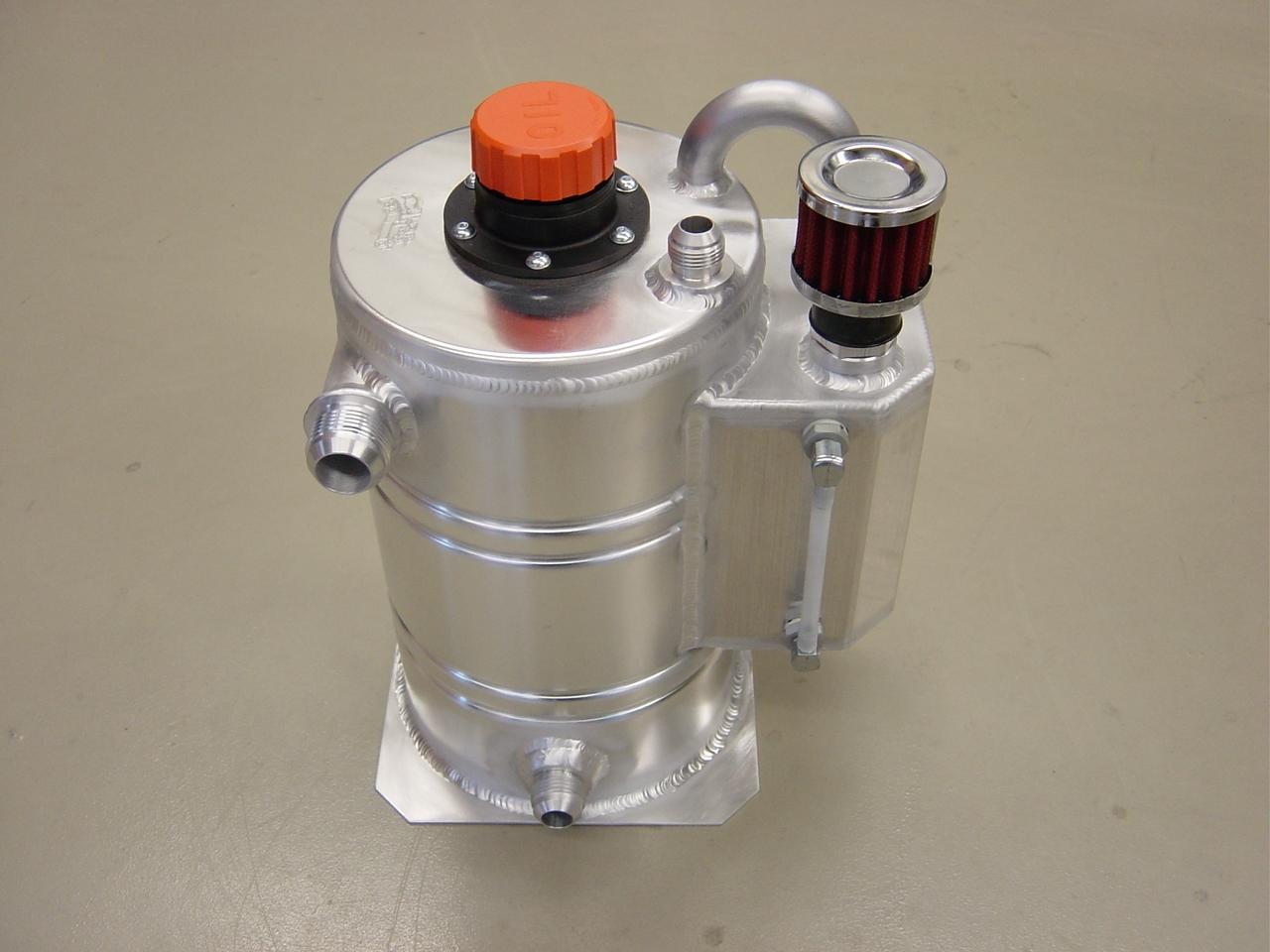 Dry-sump tank 8 liter speciaal - L - Dash 12-0