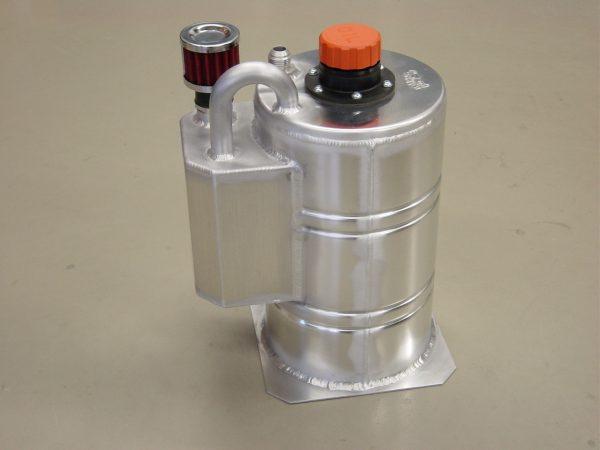 Dry-sump tank 8 liter speciaal - R - Dash 12-412