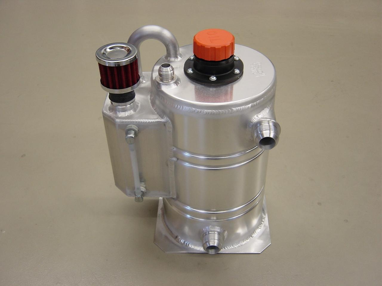 Dry-sump tank 6 liter speciaal - R - Dash 12-0