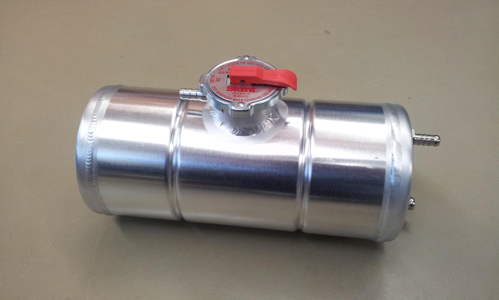 Expansie tank 2 Cobra rechts + radiateur dop.-0