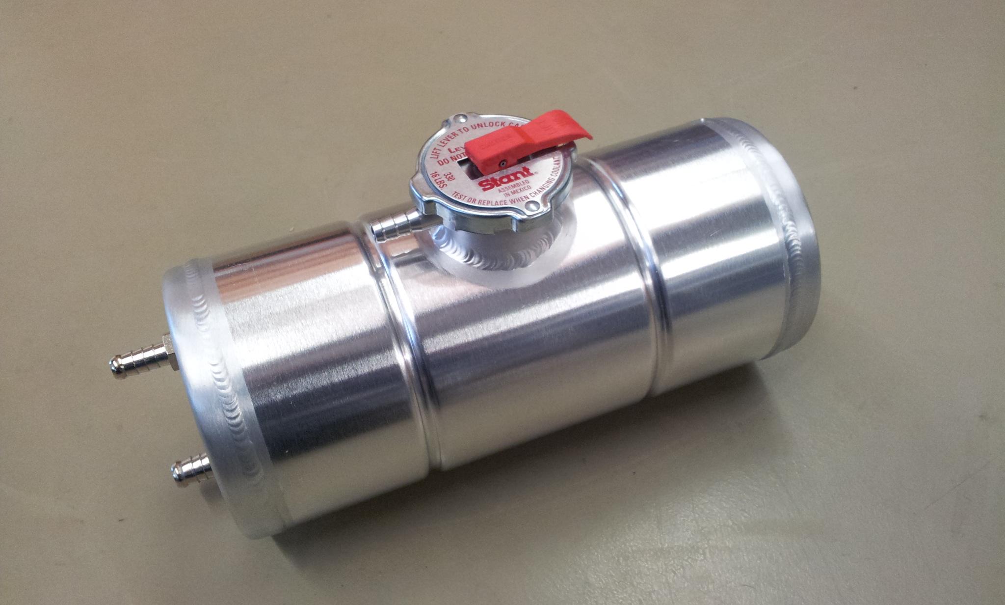 Expansie tank 2 Cobra links + radiateur dop.-0