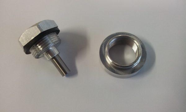 Aftap plug magnetisch -515