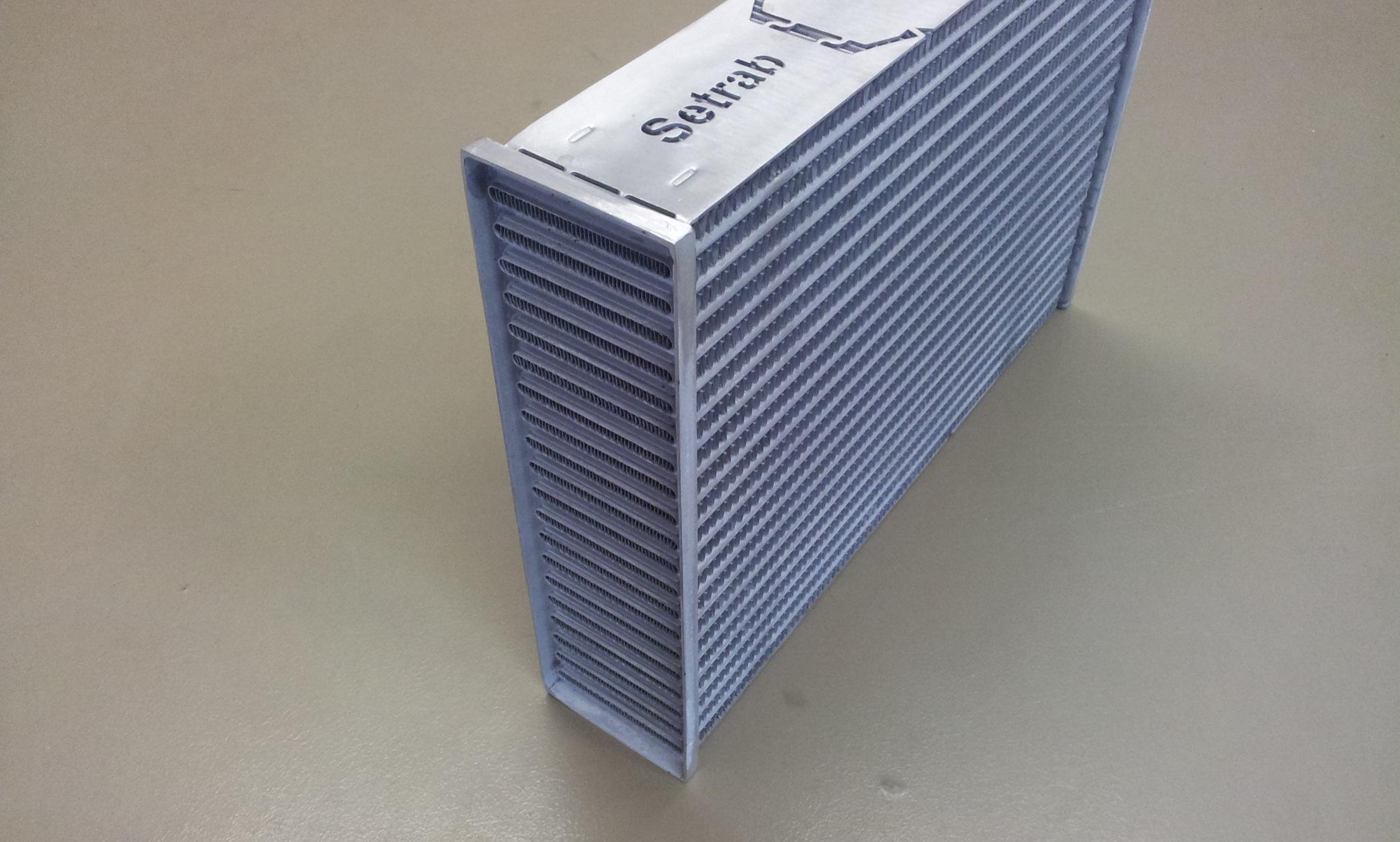 Setrab proline interkoeler koelblok 580 x 276 x 70-0