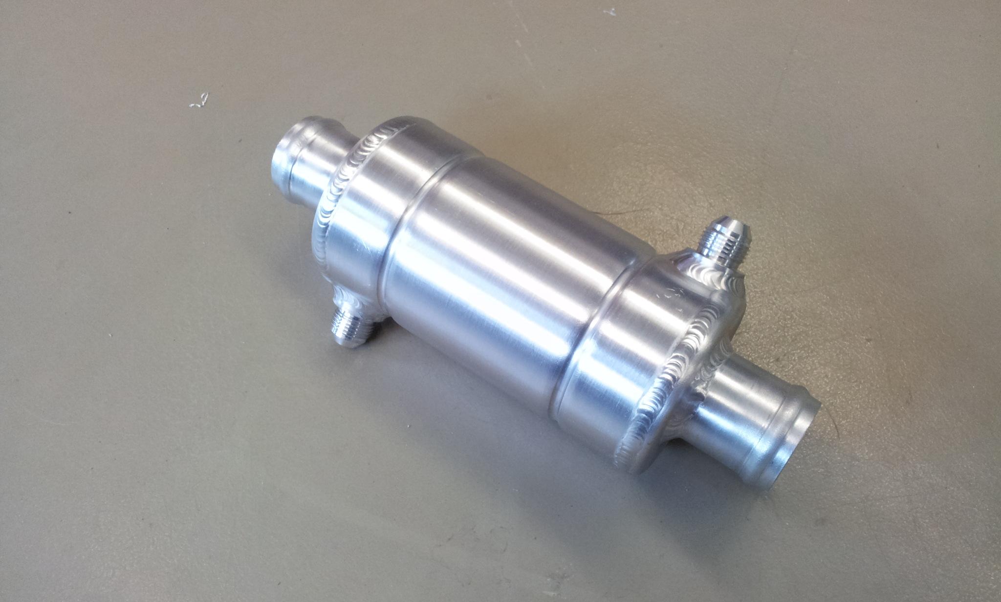 Warmtewisselaar Ø 80 mm L= 240 mm- Dash 8-0