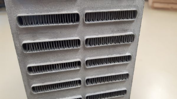 H&S speciaal intercooler koelblok 650 x 470 x 82-1226