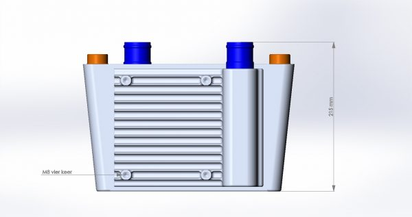 H&S Heat exchanger high performance with PWR core.-854