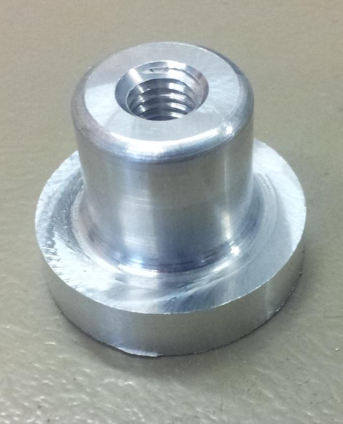 Aluminium lasbus M8-0