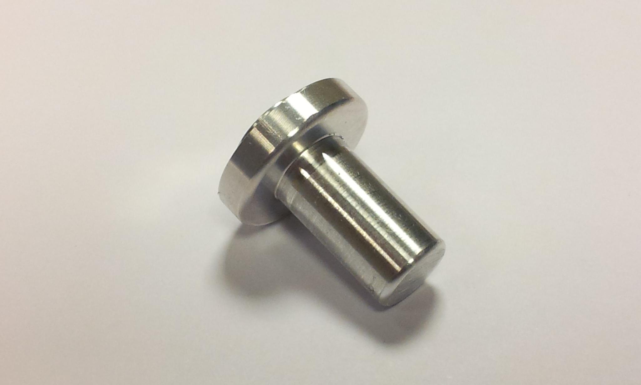 Aluminium lasbus opname pen Ø 10 mm-0