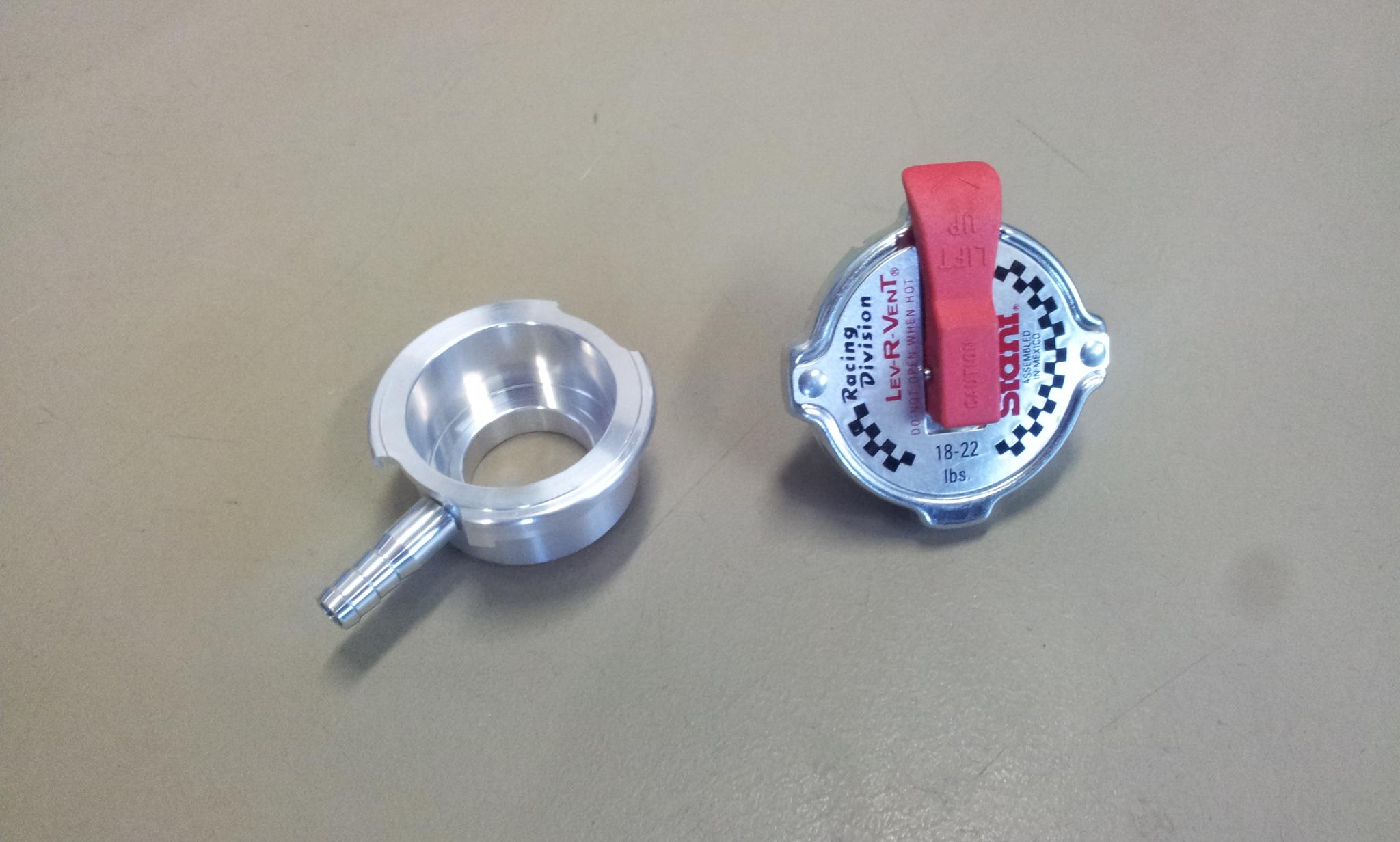Radiateur dop - 1,2-1,5 bar + radiateur las neck groot-0