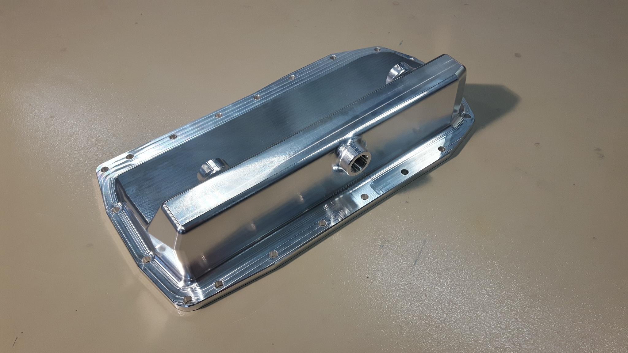 Aluminium Dry-sump carterpan VW 2,0 ltr TFSI-0