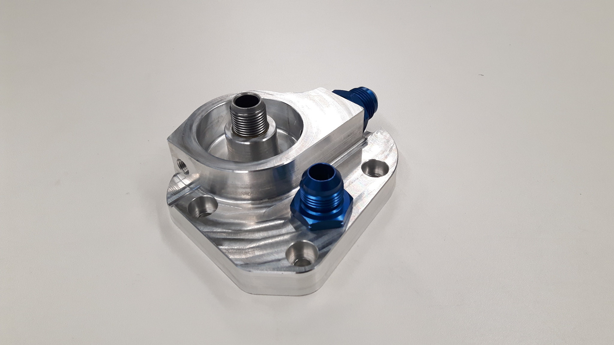 VW TFSI Dry sump adapter.-0