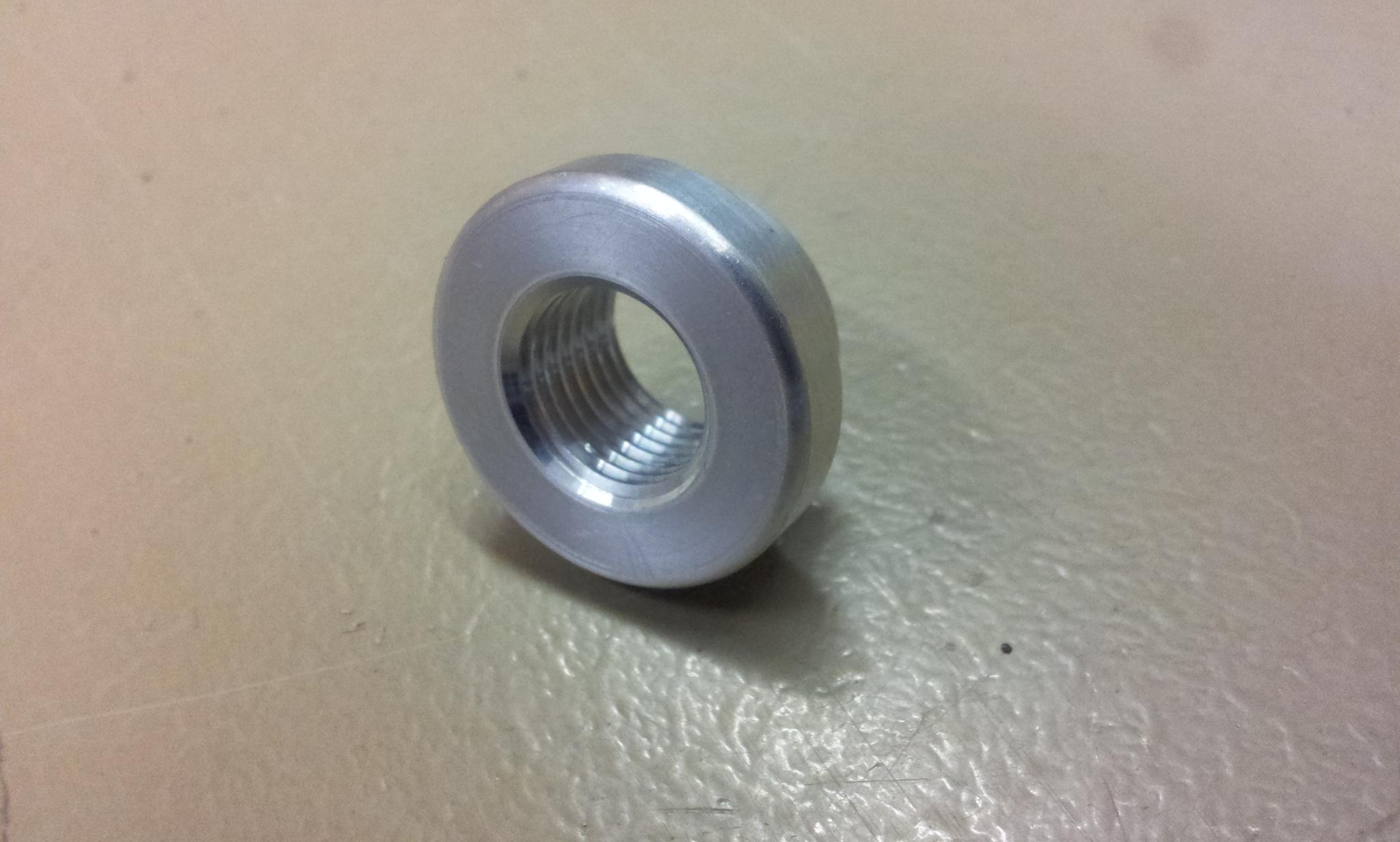 Aluminium lassok M12 x 1,5 draad -0