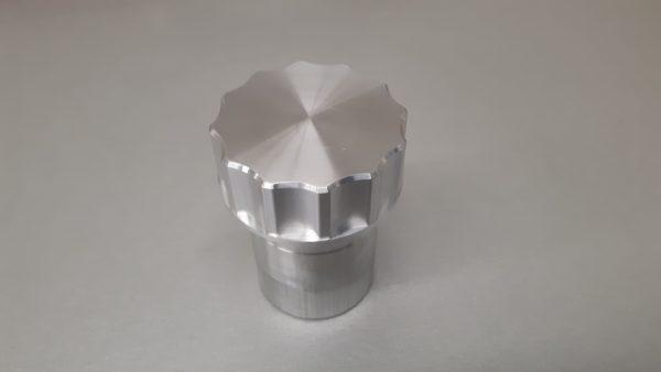 Tankdop set aluminium Ø 42 mm L= 70 mm-1221