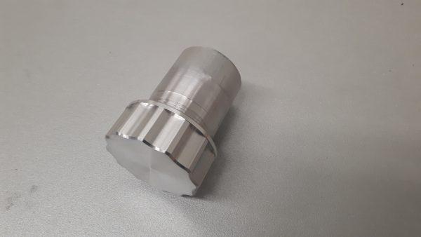 Tankdop set aluminium Ø 42 mm L= 70 mm-1222