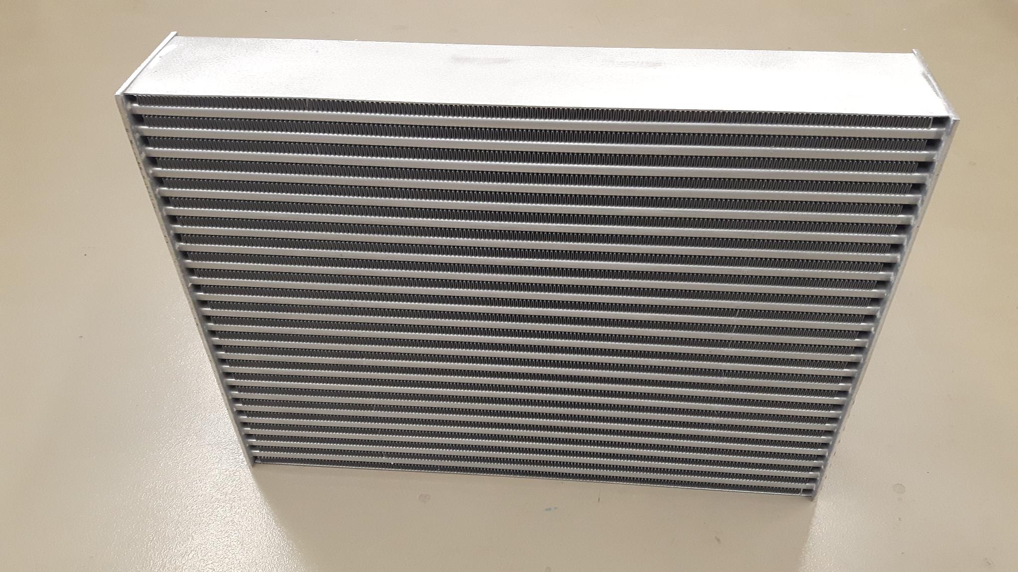 H&S speciaal intercooler koelblok 600 x 480 x 62-0