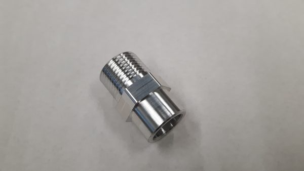 Aluminium airco las / soldeer nippel 5/8-18 UNF-1278