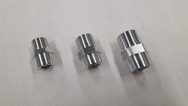 Aluminium airco las / soldeer nippel 7/8-14 UNF-1290