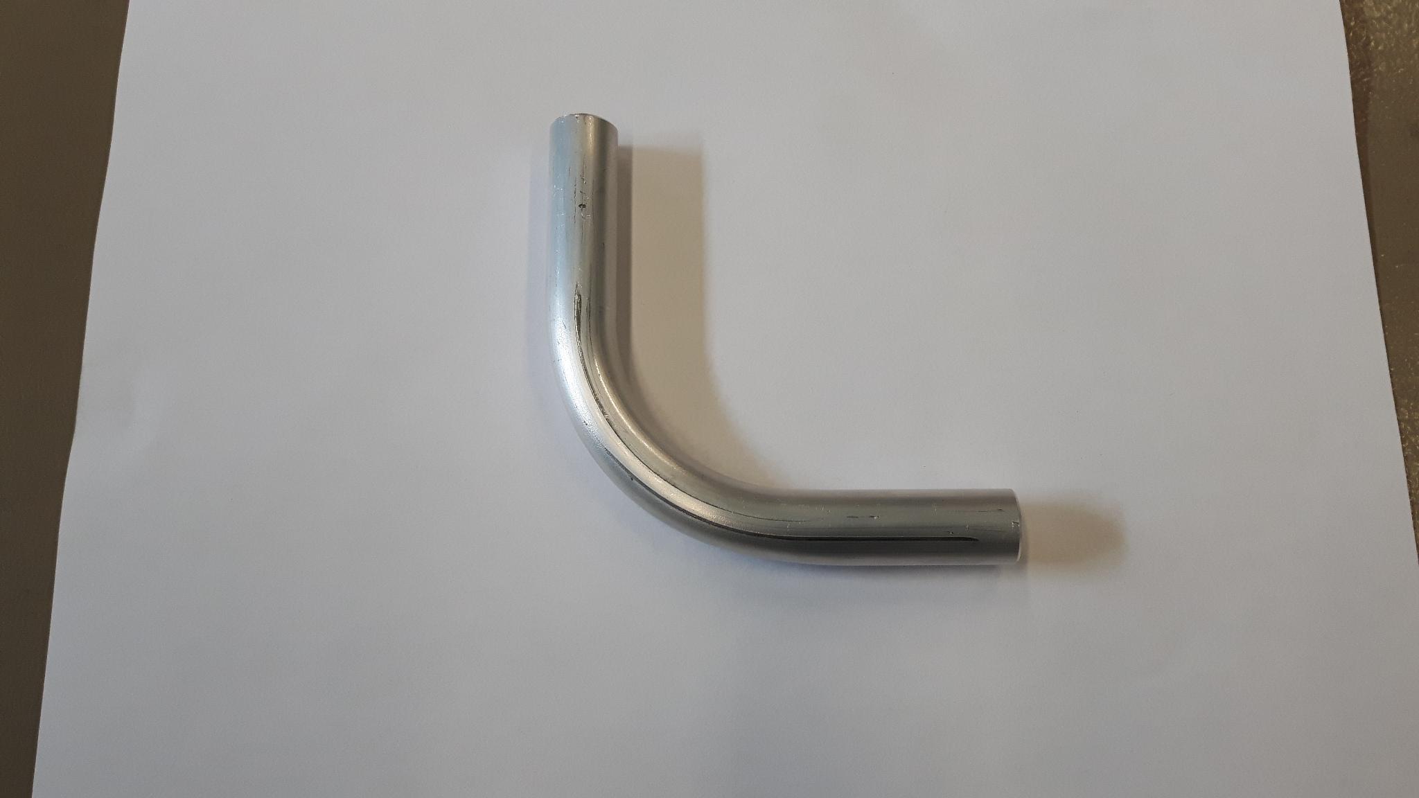 Aluminium bocht 90 graden 16 mm-0
