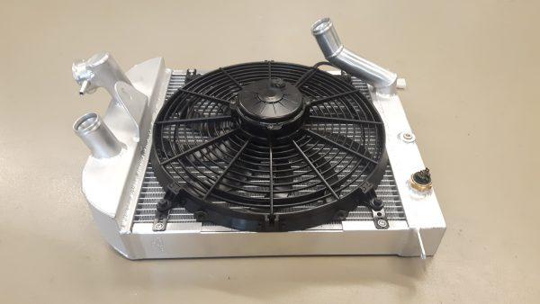 Radiateur speciaal Morgan Sportscar incl ventilator.-1463