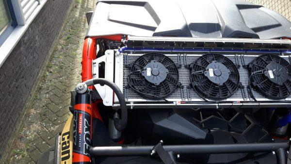 Can-am Maverick X3 cooling ombouw set.-1520