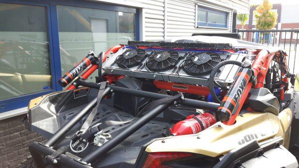 Can-am Maverick X3 cooling ombouw set.-1521