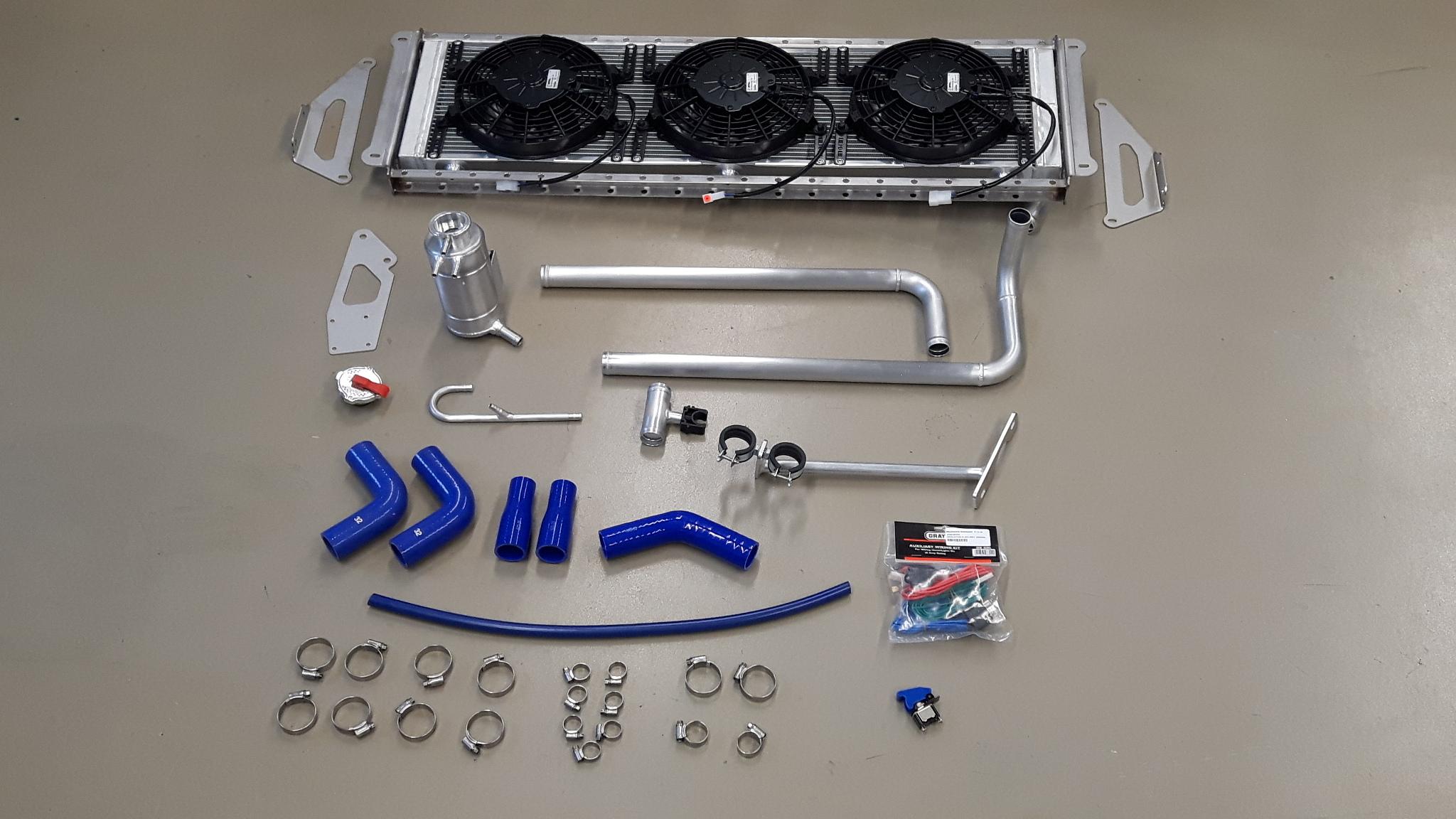 Can-am Maverick X3 cooling ombouw set.-0