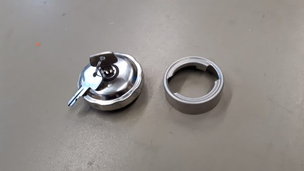 Tankdop afsluitbaar met aluminium las vulhals-1704