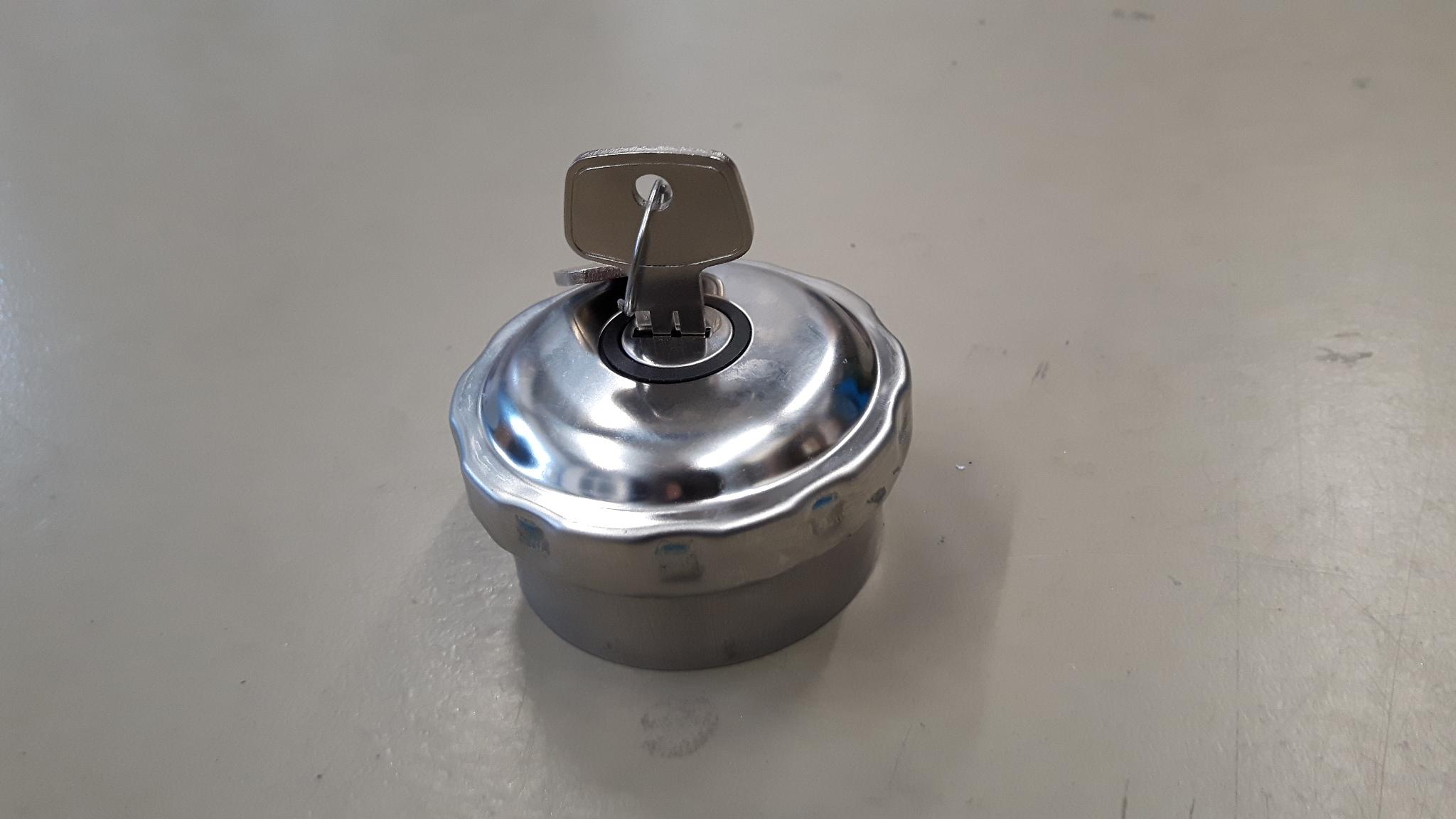 Tankdop afsluitbaar met aluminium las vulhals-0
