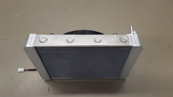Radiateur Donkervoort speciaal met ventilator.-1815