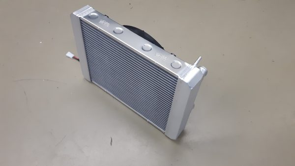 Radiateur Donkervoort speciaal met ventilator.-1816