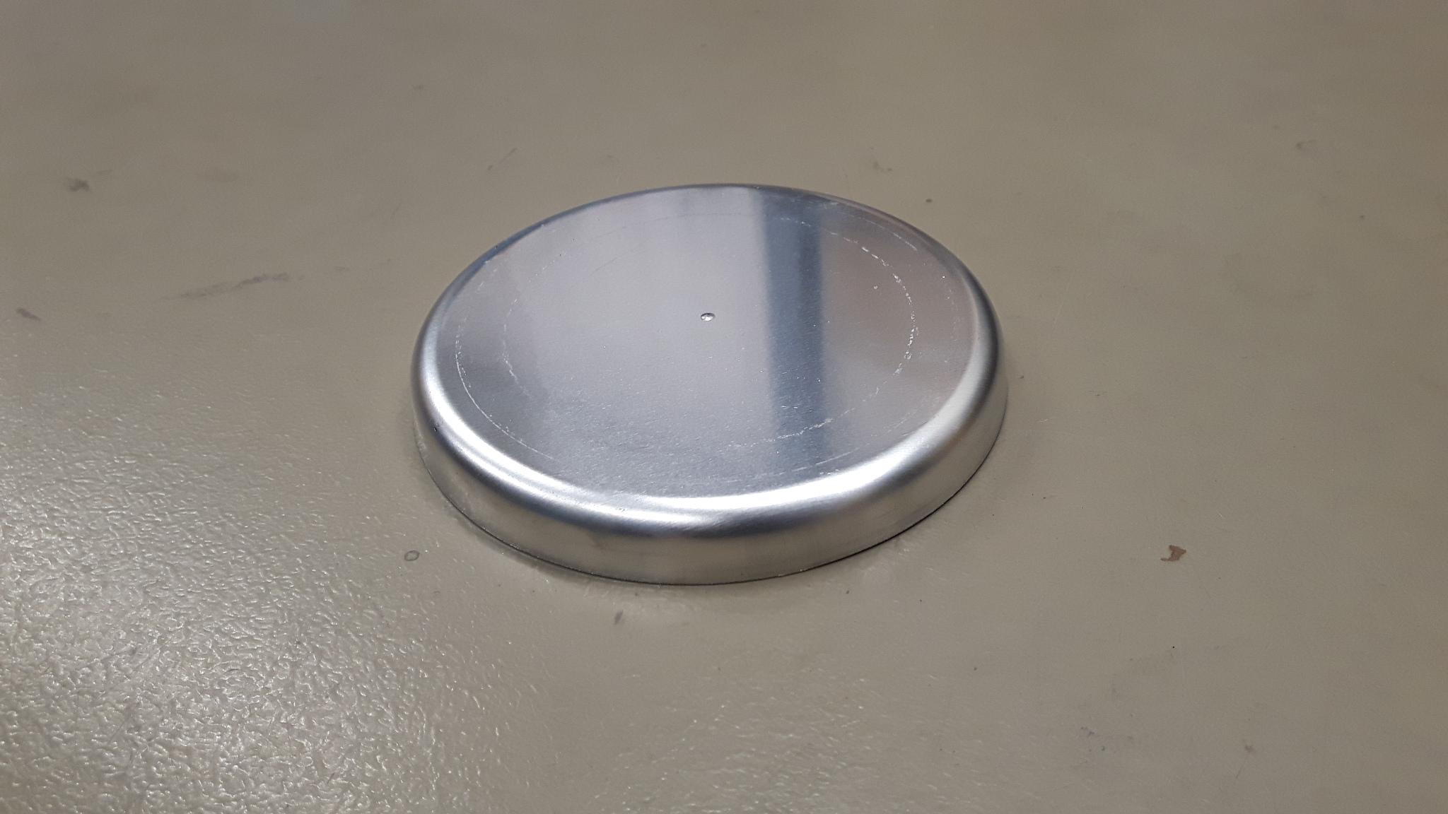 Aluminium lasbodem Ø 100 mm-0
