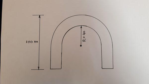 Alu bocht 180 graden 16 mm-2051